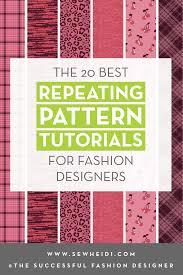 Textile Design Tutorial The 20 Best Repeating Pattern Textile Design Tutorials In