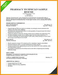 Pharmacy Technician Resume Cool Entry Level Pharmacy Technician Resume Folous