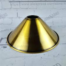 bronze lamp shade antique brass finished iron lampshade pendant lamp shade bronze lighting shade cone design
