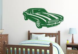 stylist ideas car wall art retro camaro 69 style decal vinyl for guys transportation metal stickers nursery uk picture 3d big 50s
