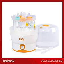Máy Tiệt Trùng Hơi Nước 8 Phút 6 Bình Sữa Fatz
