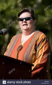 Priscilla Mason speaks during a press conference prior to the addition of  her husband Marine Corps Lance Cpl. Raymond C. Mason's name to the Vietnam  Veterans Memorial in Washington on May 7,