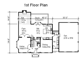 Two Story Colonial Home Plans for Sale   Original Home Plans Story Colonial House Plan