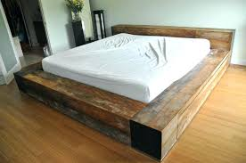 Bed Frames For Cheap Queen Bed Frame With Storage Plans Wooden Bed ...