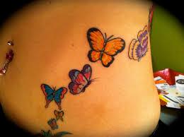 тату бабочка для девушек 100 лучших вариантов со значением фото