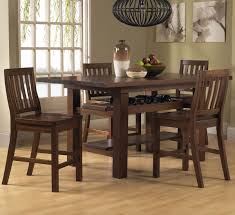Dining Room Wine Rack That Combined In The Brown Rectangular