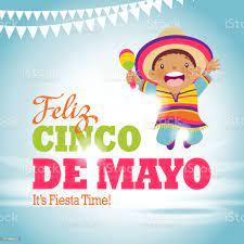 Cinco De Mayo Kinder Partei Stock ...
