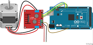 arduino code for stepper motor and l298n driver module