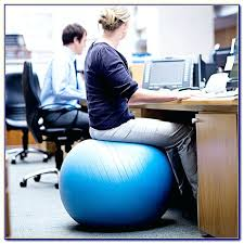full image for best size ility ball for office chair yoga ball office chair reviews exercise