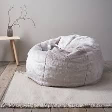 supreme faux fur bean bag beanbags home accessories home the white company uk