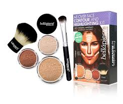 amazon bellapierre all over face contour and highlighting kit um beauty