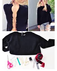 diy refashion old sweater diy clothes ideas for winter