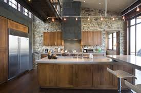 Natural Stone Kitchen Flooring Cottage Kitchen Design With Natural Stone And Wooden Floor