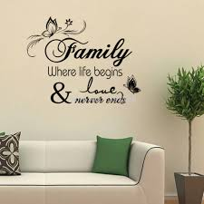 creative office wall art. Family Home Decor Creative Quote Wall Decals Decorative Removable Vinyl Sticker Office Decoration Mural Quote-in Stickers From \u0026 Garden Art A