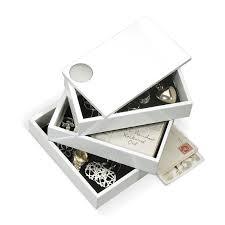 <b>Шкатулка Spindle белая</b> купить в интернет-магазине DOMLE.RU ...