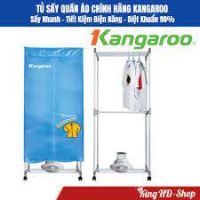 Máy sấy, tủ sấy quần áo Kangaroo KG332, sấy nhanh, diệt khuẩn 98%