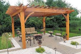 covered diy patio patio plans rustic
