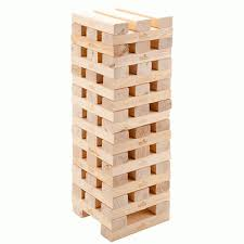Game Played With Wooden Blocks New mega wooden tumbling tower blocks garden game outdoor family 41