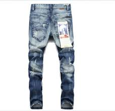 china new urban cool mens side ankle zipper jeans kanye west skinny stretchy destro distressed knee