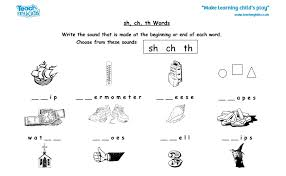 This book contains all of the worksheets for lesson 5 from www.phonics.com. 33 Sh Ch Th Worksheet Worksheet Resource Plans
