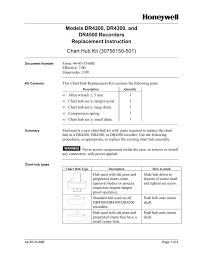 Honeywell Dr4500 Chart Hub Manualzz Com