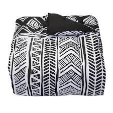 leilani black college classic twin xl comforter
