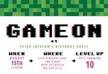 invitations to birthday party boys birthday invitation templates free greetings island
