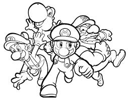 Coloring Pages Of Mario And Luigi Kleurplaat Mario Moet Op Z N