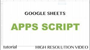 App Script Editor Tutorial Google Sheets Excel Vba Equivalent