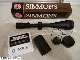 simmons whitetail classic 6 5 20x50. simmons whitetail classic scope. 6.5-20x50 with 3 inch sunshade(a $25 option). used very little. near new condition no ring marks. $115. 6 5 20x50