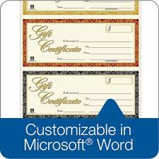 Microsoft Word Gift Certificate Templates Microsoft Word Adams Gift Certificate Template Sample 2069