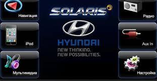 Разбираемся в функциях штатного <b>навигатора Hyundai</b> Solaris ...