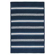 striped area rugs blue rug navy