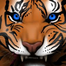 tiger face growling drawing. Simple Drawing Tiger Growling By Emmy1320  To Face Drawing