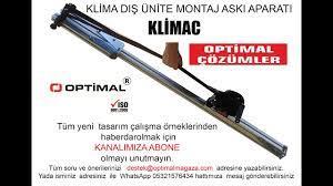 Klima dış ünite montaj aparatı KLİMAC -Air conditioner outdoor unit  mounting apparatus KLİMAC - YouTube