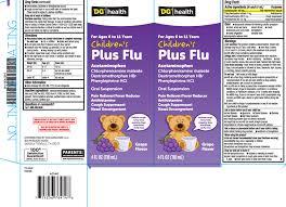 Childrens Plus Flu Suspension Dolgencorp Inc Dollar
