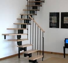 ... Smart floating stairway design maximizes space on offer