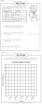 Blank Tally Chart And Bar Graph Worksheet Creating Double Bar Graph Worksheets Tally Charts And Graphs