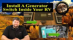 add a generator switch inside your rv cummins onan 4000 watt  at Owen 700 Watt Generator For Motorhome Wiring Schematic