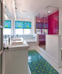 Best 25 Orange Small Bathrooms Ideas On Pinterest  Orange Bath Colorful Bathroom Decor