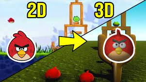 Angry Birds in 3D by Tyler Green