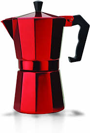 I just bought a standard bialetti stove top coffee post. Amazon Com Primula Stovetop Espresso And Coffee Maker Moka Pot For Classic Italian Style Cafe Brewing 6 Cups Red Combination Coffee Espresso Machines Kitchen Dining