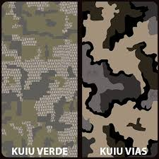 Kuiu Camo Patterns Impressive KUIU Verde KUIU Vias Water Transfer Printing Film TWN News
