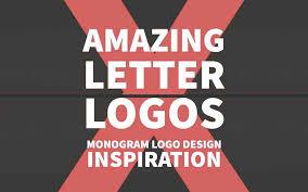 design letter 130 amazing letter logos monogram logo design inspiration