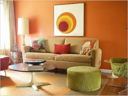 Orange Paint Living Room Rooms To Go Dining Rooms Orange Color Paint Living Room Tuscan