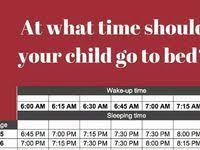 Healthy Sleep Habits Happy Child Sleep Chart Unrealistic Bedtime Rules Shared By Elementary School Go