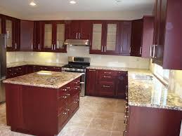 quartz countertops. White Quartz Countertops With Cherry Cabinets Deductour Com