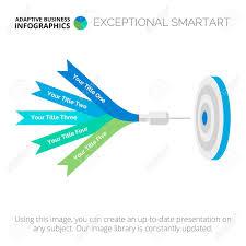 Goal Infographic Element Of Presentation Diagram Chart Creative
