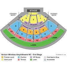 Verizon Concert Seating Chart Charlotte Summer Concerts At Verizon Wireless Tba