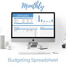 Monthly Budgeting Spreadsheet Excel Google Sheets Pennies To